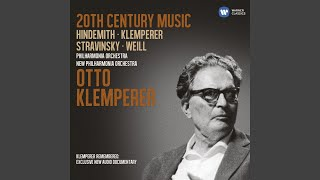 Otto Klemperer: A Biographical Memoir: Klemperer's communication and results in the opera house