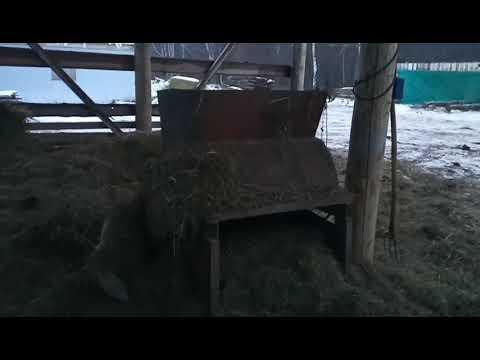 Силос для коз в домашних условиях