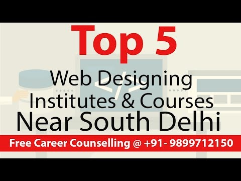 Top 5 Web Design Institutes & Courses Near South Delhi | Digital Marketing Profs