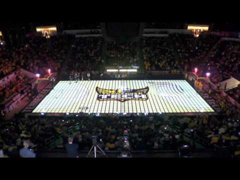 Tennessee Tech Men's Basketball 3D Court Projection