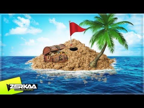 THE TREASURE ISLAND! (Golf It)