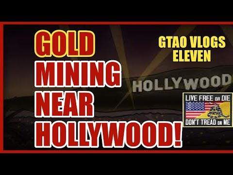 Gold Mining Near Hollywood!?!  East Fork San Gabriel River Gold!! Treasures & Gold Mining