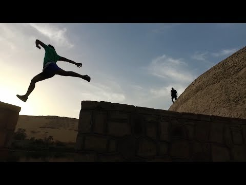 parkour and freerunning in aswan