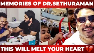 Dr. Sethuraman's Unseen Moments With Santhanam And His Family – Heart Touching