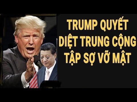 Tập cận Bình lo vỡ mật khi Trump chiếu bí