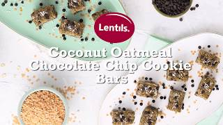 Coconut Oatmeal Chocolate Chip Cookies Bars