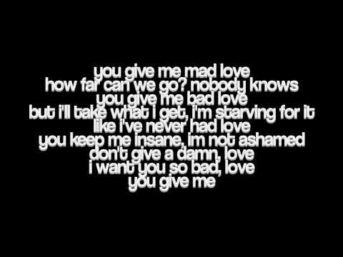 JoJo - Mad Love. (Lyrics)