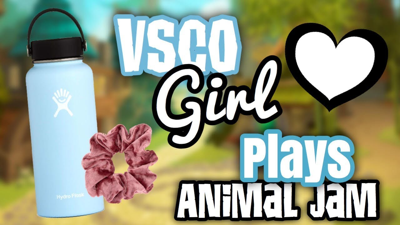 VSCO GIRL PLAYS ANIMAL JAM