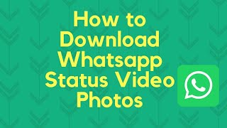 How to download WhatsApp status Without any app | TechMandarin