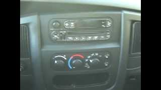 Dodge Ram Pick Up Car Stereo Removal and Repair