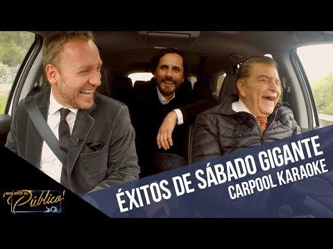 Carpool Karaoke con Don Francisco, Martín y Sergio