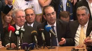 #CANLI | Fenerbahçe eski başkanı Aziz Yıldırım açıklama yapıyor