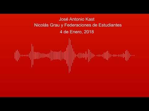 José Antonio Kast - Nicolás Grau y Federaciones de Estudiantes