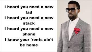 Kanye West - Hold My Liquor ft. Chief Keef & Justin [Lyrics]
