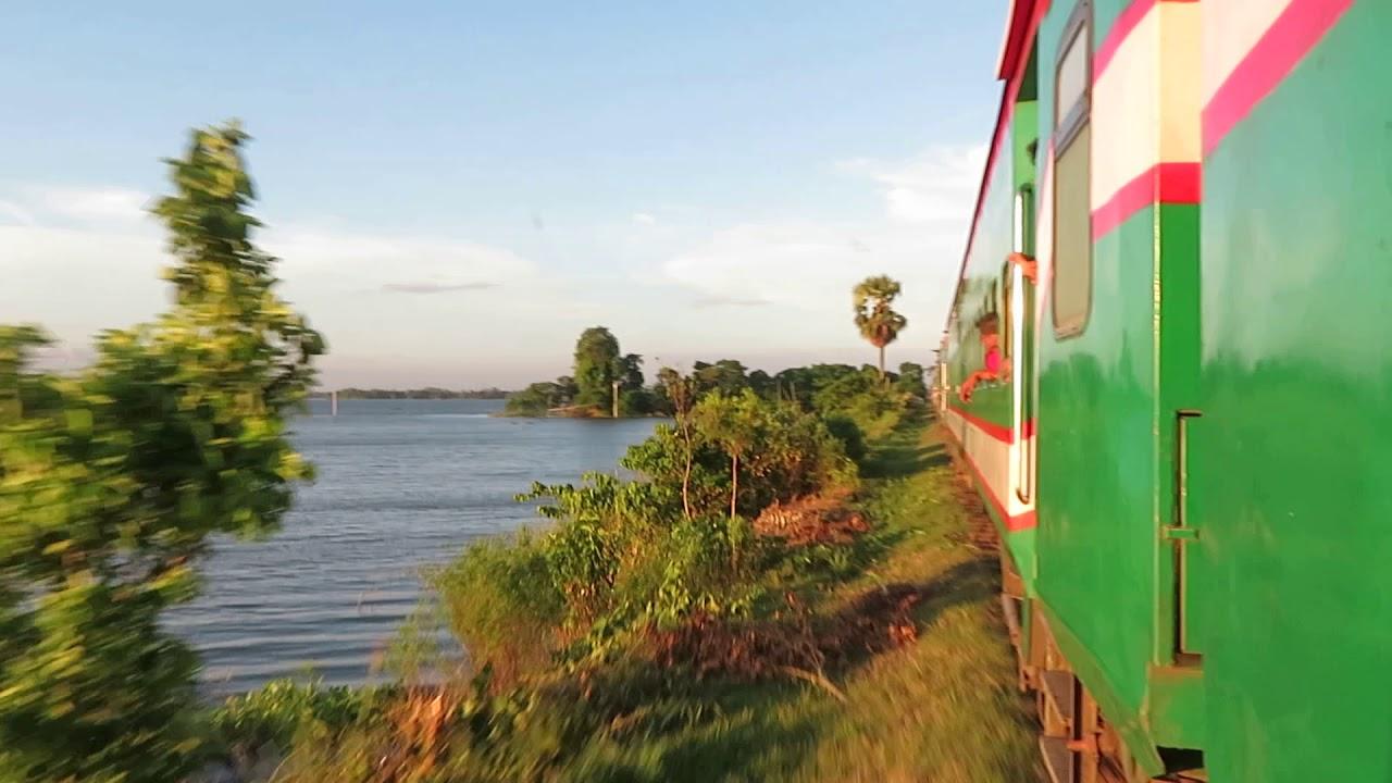 Beauty OF BANGLADESH |||| a beautiful Train Journey Beside Dilpashar Beel