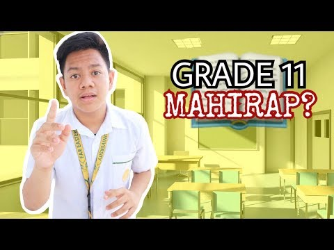 Grade 11 Life In The Philippines    Jayce Mars