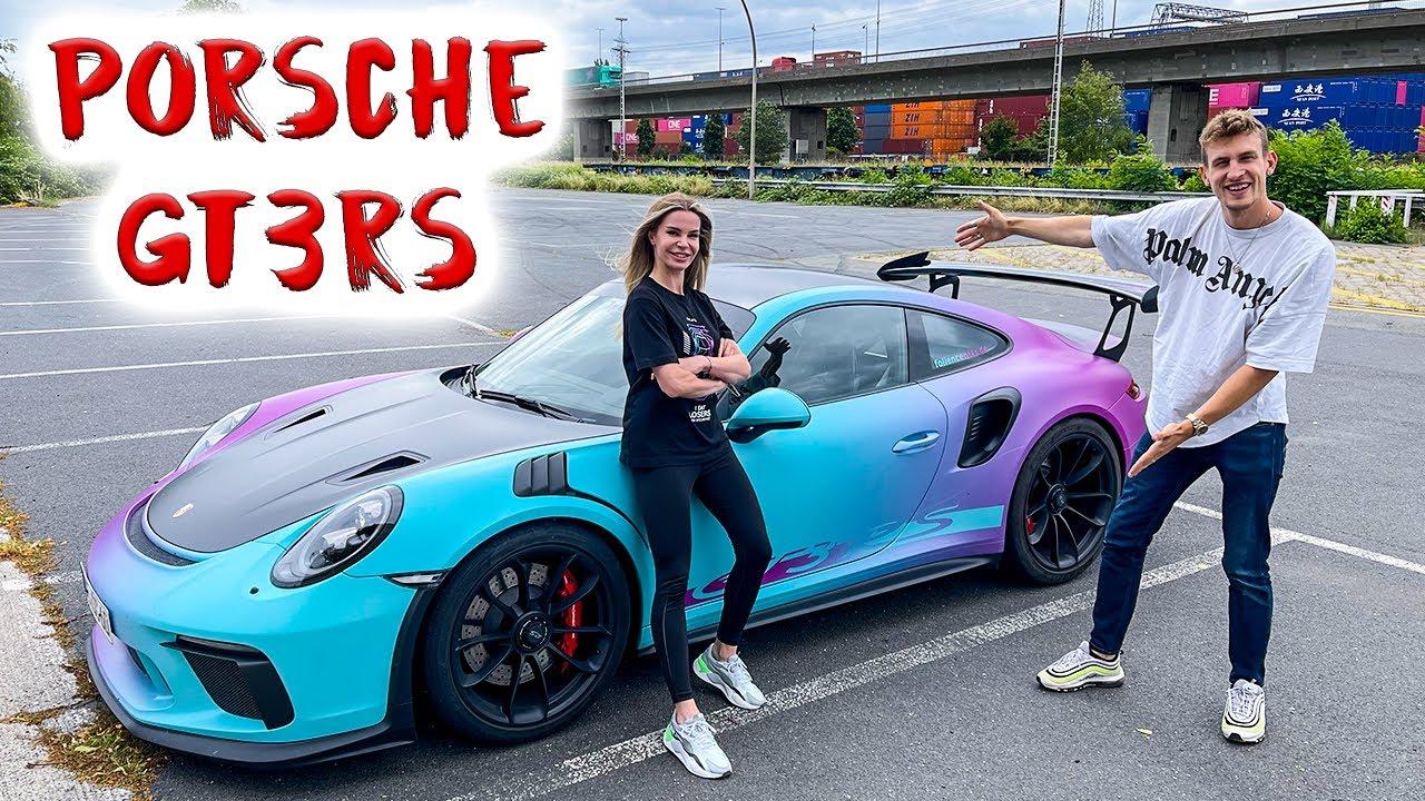 Ich fahre den Porsche Gt3rs von Sophia Calate!