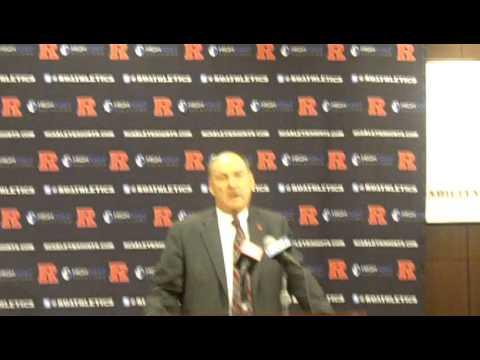 Rutgers to Big Ten Press conference: Part 1