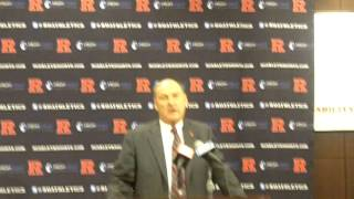 Rutgers to Big Ten Press conference: Part 1