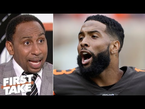 The overhyped Browns got beat down by the Titans - Stephen A. | First Take