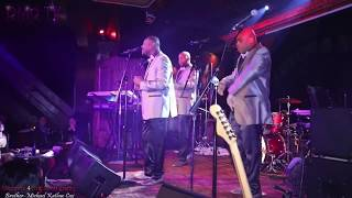 "Greg Hill & The Delfonics (The Cutting Room) NYC ""Love Train"""