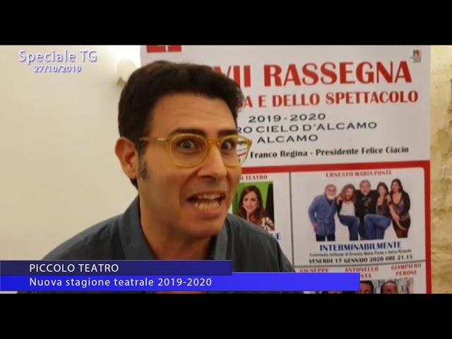 Piccolo teatro di Alcamo. Nuova stagione 2019/2020