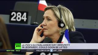 EU lawmakers vote to strip Le Pen of immunity for tweeting pictures of ISIS violence