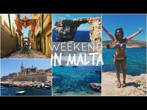 MALTA TRAVEL GUIDE | Blue Lagoon, Gozo On An Open Jeep, Vall