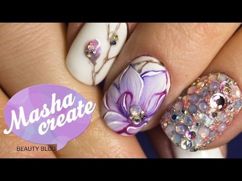 Рисунки на ногтях -