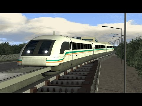 LETS PLAY Train Simulator 2016 | Folge 160 | Shanghai Maglev | Transrapid