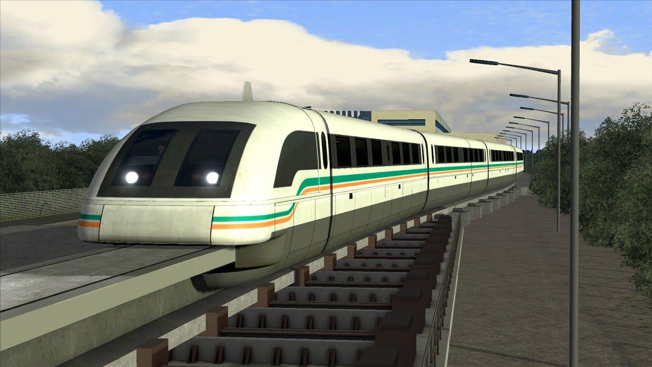 LETS PLAY Train Simulator 2016 | Folge 160 | Shanghai Maglev ...