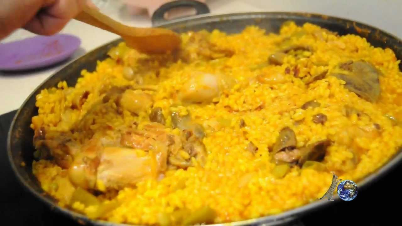 Como hacer una paella valenciana en una placa de induccion youtube - Como cocinar paella ...
