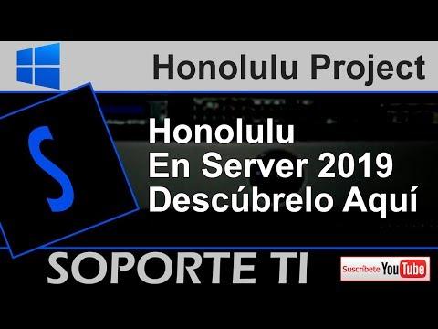 Honolulu - Windows Server 2019