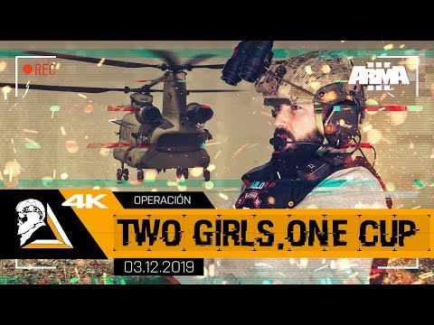 OPERACIÓN TWO GIRLS, ONE CUP - ARMA3 4K 75th RANGER REGIMENT - SQUAD ALPHA - DIABLO HELMETCAM