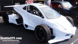 Toymakerz  Mid-Engine Formula Inspired Custom Car