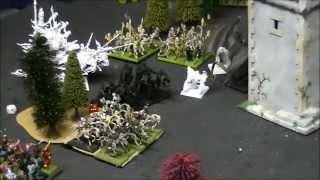 Vampire Counts vs Dark Elves 3000 points
