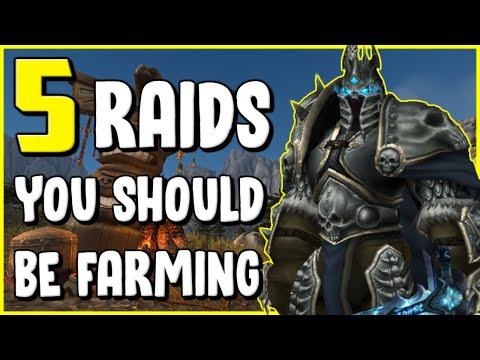 5 Raids You Should Be Farming Weekly In WoW BFA 8.2.5 - Gold Making, Gold Farming