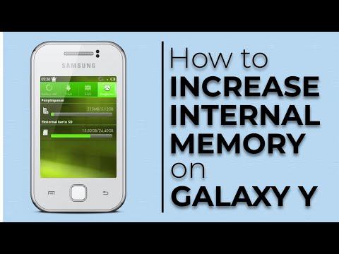 Tăng bộ nhớ trong cho galaxy y