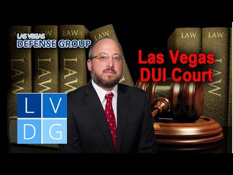 "How does ""DUI Court"" work in Nevada? Moderate and Serious offenders program"