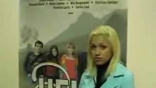 "Cindy Santos fait la promo de la série ""Heidi"""