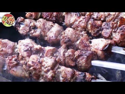 видео: Шашлык по - кавказски. Просто, вкусно, недорого!