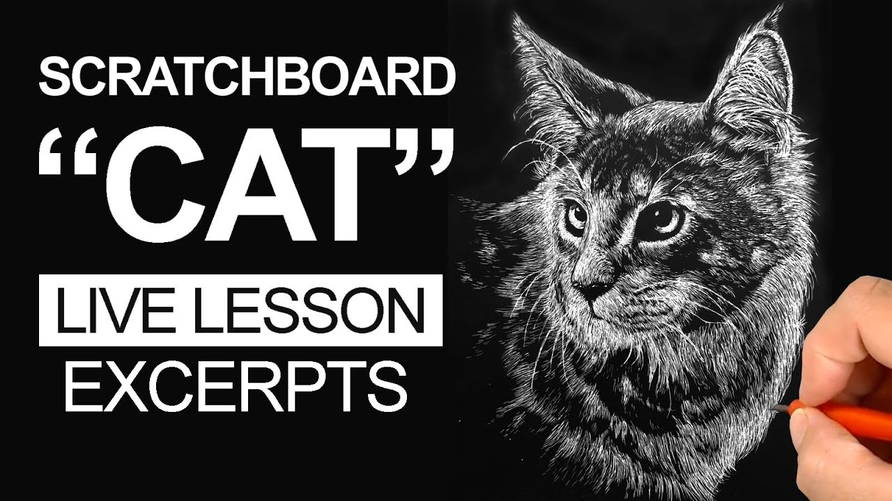 Scratchboard Art Lesson
