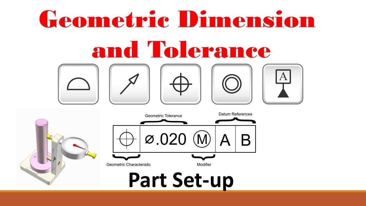 GD&T (Part 1: Basic Set-up Procedure) - YouTube