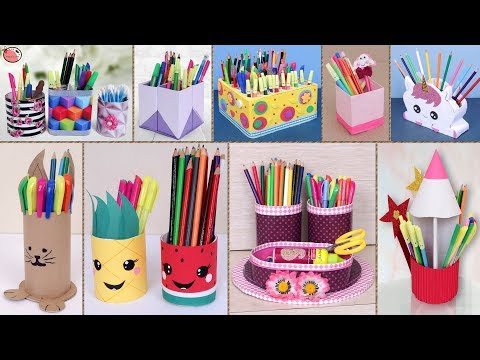Genius Pen Stand Ideas !!! 10 Best Out of Waste