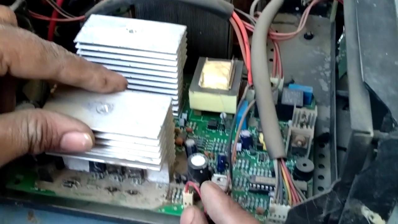sukam inverter repair in hindi at home part 1 how to repair power power inverters spares or repairs 12 v circuit schematic diagram [ 1280 x 720 Pixel ]