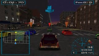 Скачать Midnight Club Street Racing PS2 Gameplay HD PCSX2