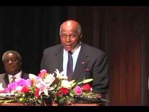 Vernon Jordan Jr. speaks at IU