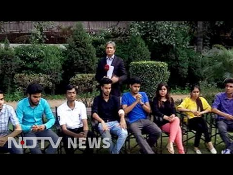 Why did many DU students choose 'NOTA' while voting in students' union elections?
