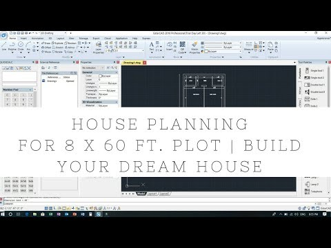 House Planning For 8 X 60 Ft. Plot | Build Your Dream House