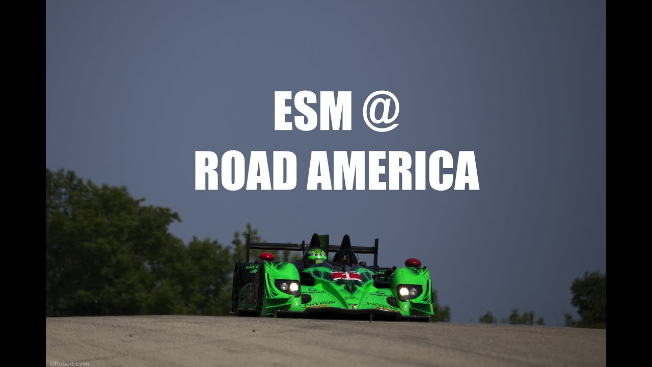 Time Lapse Racing at Road America with ESM Patrón